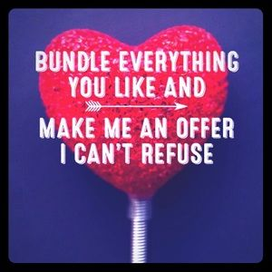 Bundle. Save on shipping. Make offer. Repeat.